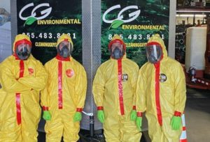 CG Environmental PPE for Coronavirus Cleaning
